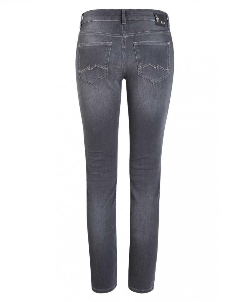 Mac Jogging Pipe Jeans - Black Authentic Wash