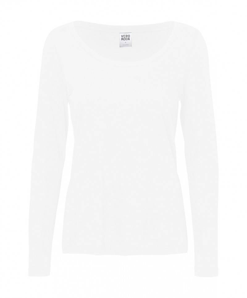 Vero Moda Shirt - MOLLY - Bright White
