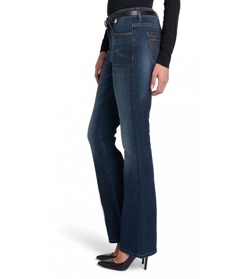 HIS SUNNY - Bootcut Jeans - Air Blue
