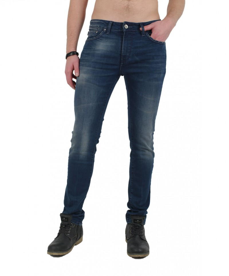 GARCIA FERMO Jeans - Super Slim - Blue Used