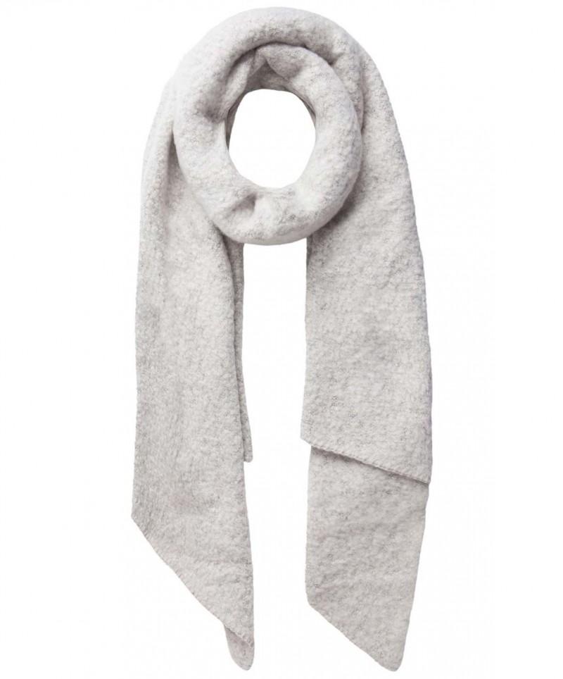 Pieces Pyron - gestrickter langer Schal - Moonbean