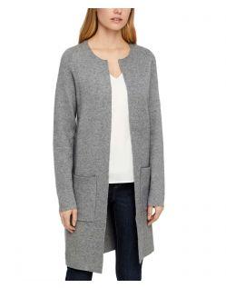 Vero Moda Tasty - Langer Cardigan in Grau