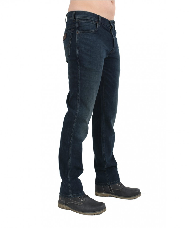 WRANGLER TEXAS STRETCH Jeans - Green Home