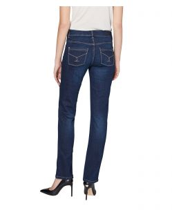 Colorado Layla - High Waist Jeans - Mid Blue Used - Hinten