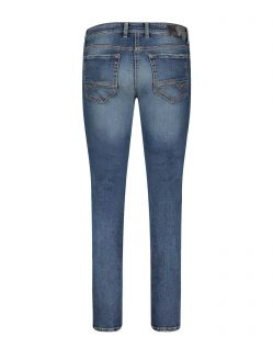 MAC ARNE PIPE - Flexx Denim - Dusty Vintage Wash - Hinten