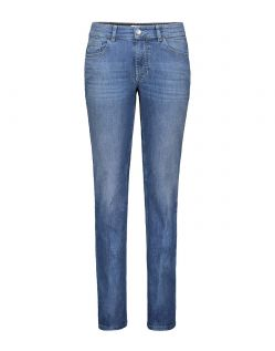 MAC MELANIE Jeans - Feminine Fit - Authentic Mid Blue Used