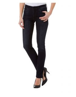 CROSS Anya - High Waisted Jeans - Blue Black