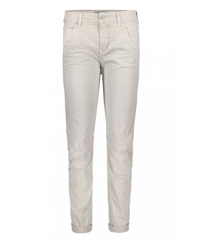 MAC Laxy Twisted Jeans - Aluminium Wash