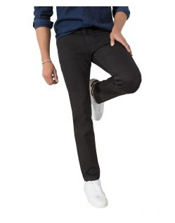 HIS STANTON - Straight Fit Jeans - Pure Black