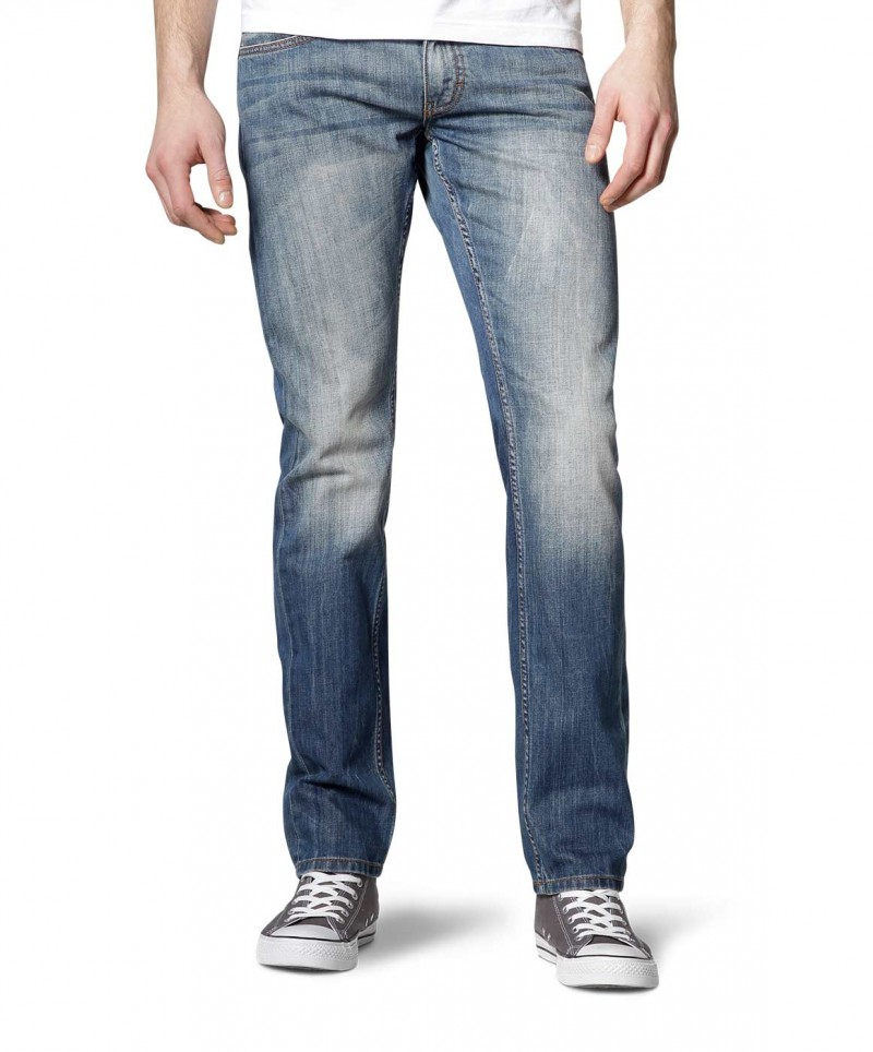 MUSTANG OREGON Taperd Jeans - Slim Fit - Strong Bleach