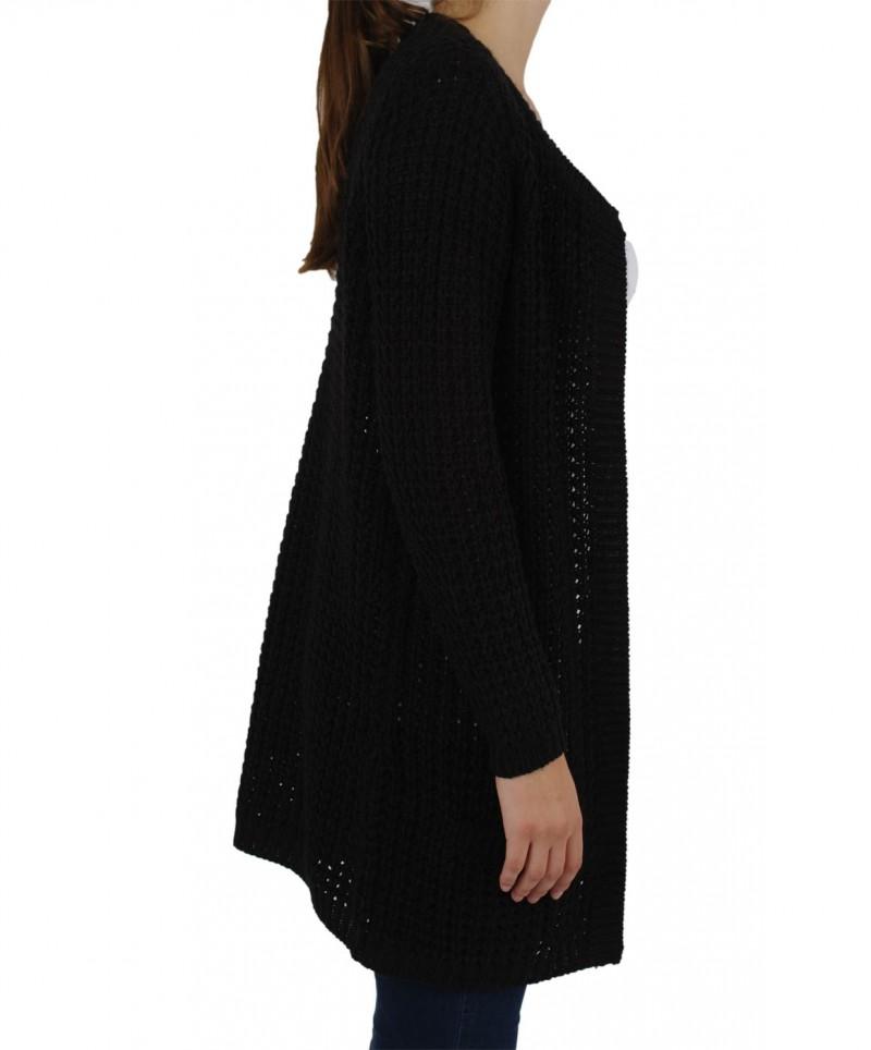 Vero Moda - CROZY Copenh. CARDIGAN - Black
