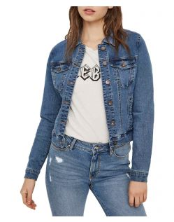 Vero Moda Soya - Jeansjacke - Medium Blue