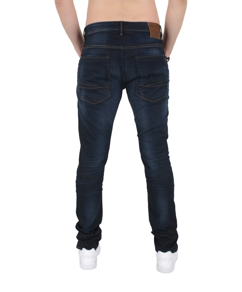 GARCIA LUCCO Jeans - Tapered Leg - Coated Used