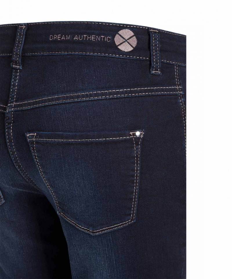 MAC DREAM AUTHENTIC - Slim Fit - Basic Blue Black Wash