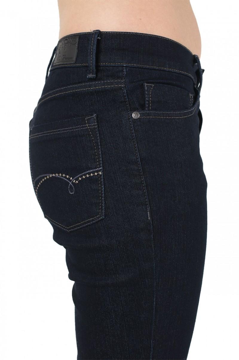 Pionner Kate Jeans - Regular Fit - Dark Blue Rinse Washed