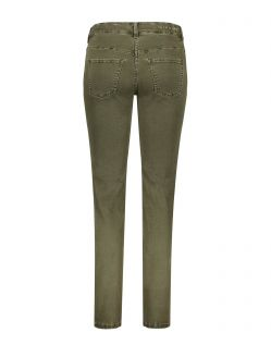 MAC DREAM Jeans - Straight Leg - Military Green - Hinten