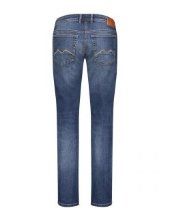 MAC ARNE Jeans - Modern Fit - Dark Blue Authentic Wash - Hinten