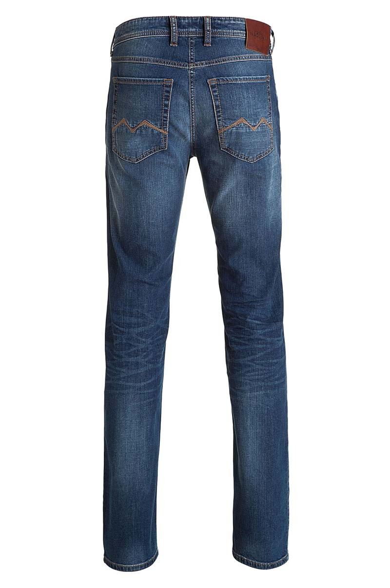 Mac Arne Jeans Straight Leg authentic blue 3D