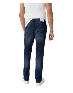 HIS STANTON - Straight Fit Jeans - Pure Dark Blue - Hinten