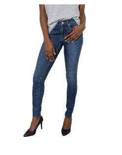 HIS LORRAINE - Super Skinny Jeans - Medium Blue Wash