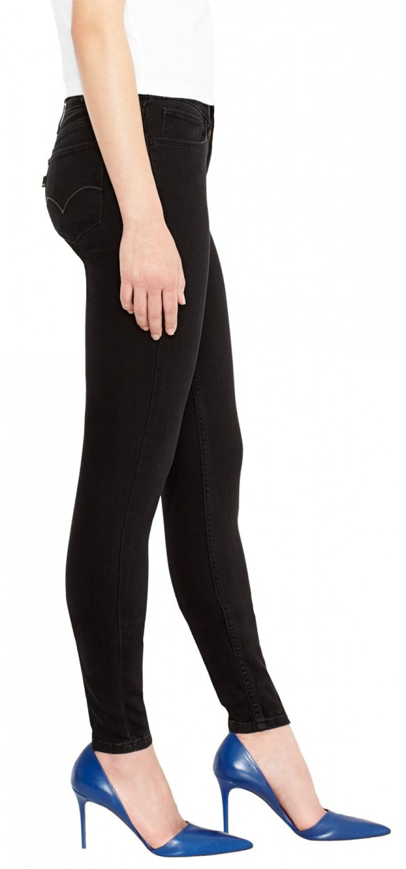 Levis Legging Jeans - Skinny Fit - Soft Black