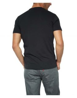 Levis T-Shirt - 2 Pack Crew Tee - Slim Fit - schwarz h