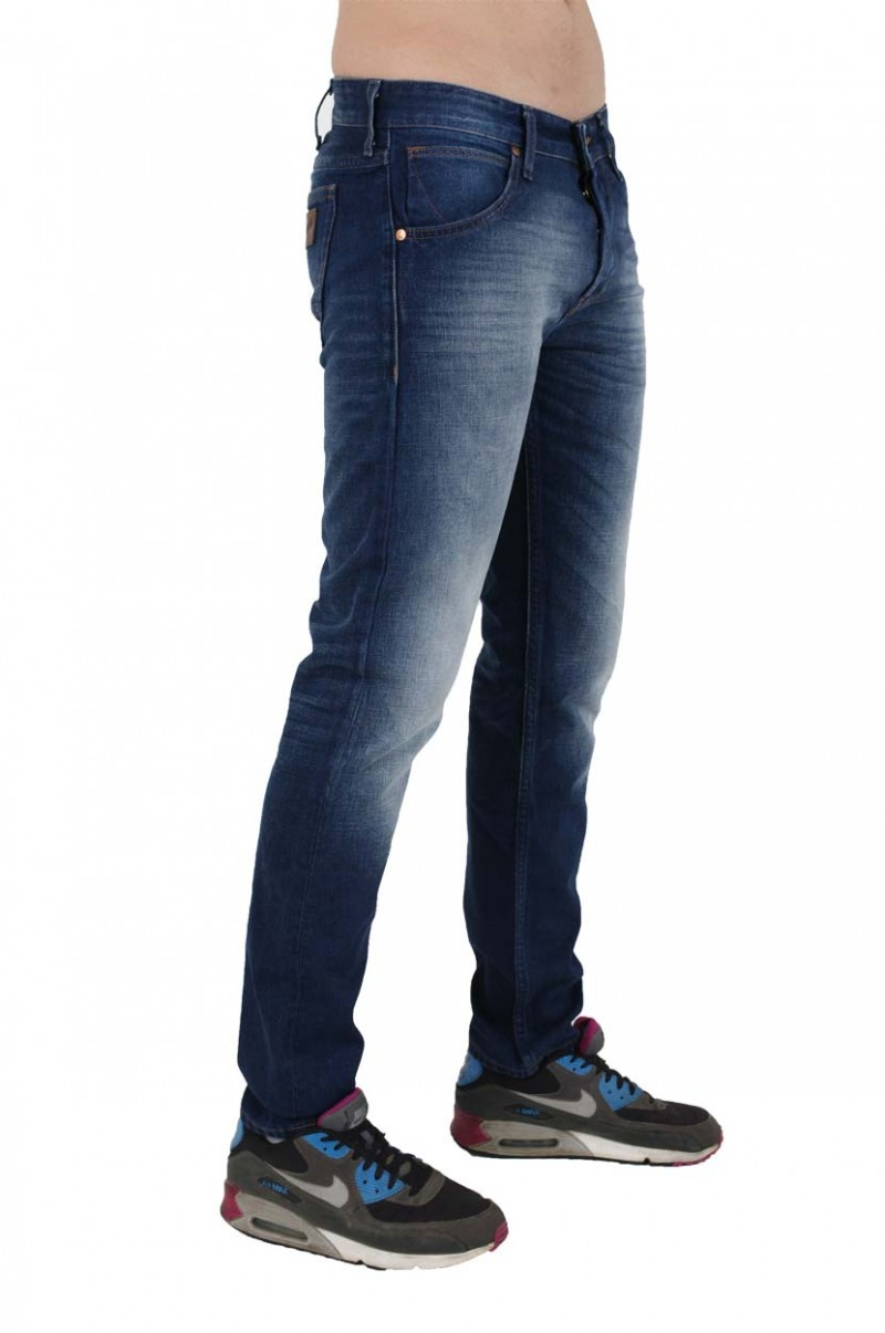 Wrangler Colton Jeans - Tapered Fit - Blue all Over
