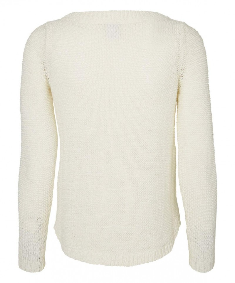 VERO MODA CHARITY - Strickpullover - Snow White
