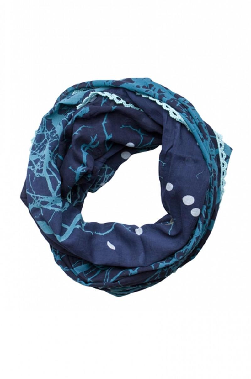 Pieces Kunella Loop - sehr anschmiegsam - Dress Blue