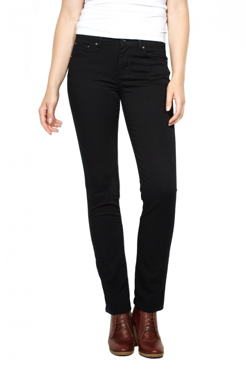 Levis Demi Curve Slim Jeans Pitch Black