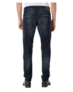 CROSS Jeans 939 - Tapered Fit - Deep Blue Used - Hinten