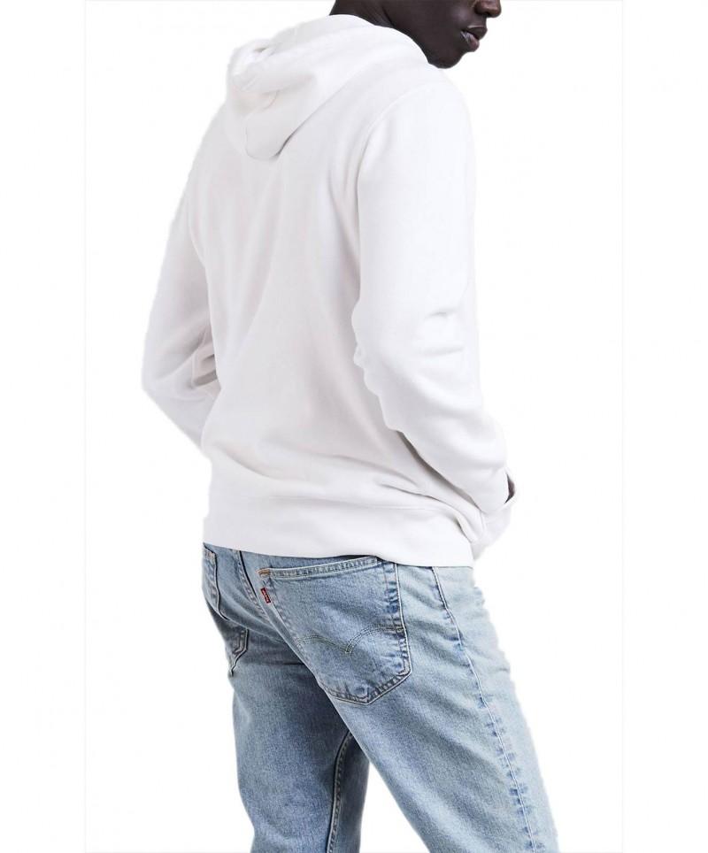 Levis Herren Sweatjacke - Original Zip Up Hoodie - Dunkelblau - Seite