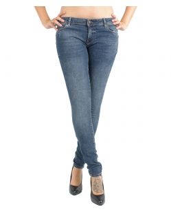 VERO MODA FIVE - Super Skinny Fit - Dark Blue