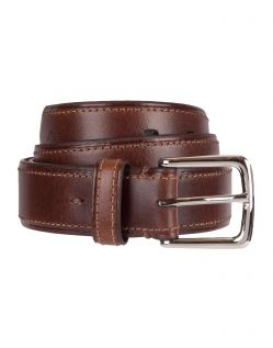 DOCKERS ICONIC BROKEN - Ledergürtel - Braun Brown