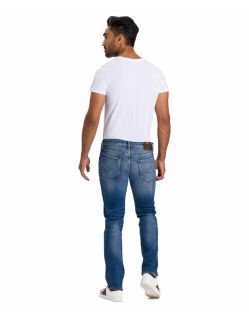 Cross Jeans Damien - Slim Straight fit Jeans im Used-Look - f02
