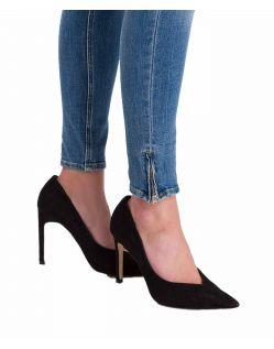 Cross Jeans Giselle - Ankle Jeans mit Zipper in heller Färbung - B02