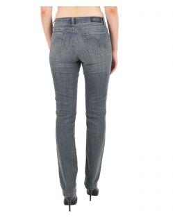 Angels Jeans Cici - Power Stretch Grey Denim - Grau - Hinten