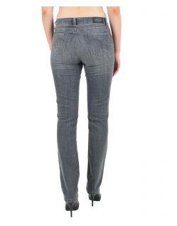 Angels Jeans Cici - Power Stretch Grey Denim - Grau - Hinten