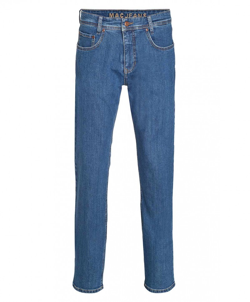MAC ARNE Jeans - New Basic Denim - Stonebleach