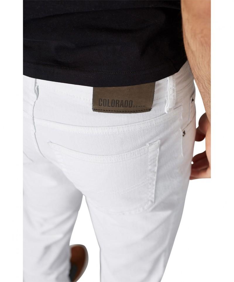 Colorado Stan - Straight Leg - White