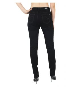 Angels CICI Jeans - Satin Denim - Jet Black - Hinten