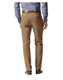 DOCKERS MARINA - Extra Slim - New British Khaki - Hinten