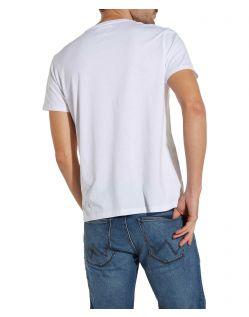 Wrangler - Weißes T-Shirts aus Baumwolle im Zweierpack  f02