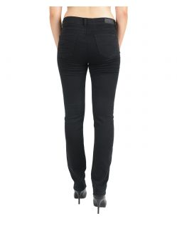Angels Cici Jeans - Sweat Denim - Jetblack - Hinten