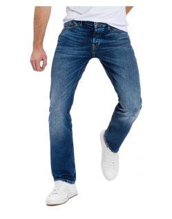 CROSS Dylan - gerade, geschnittene Jeans mit Used Look