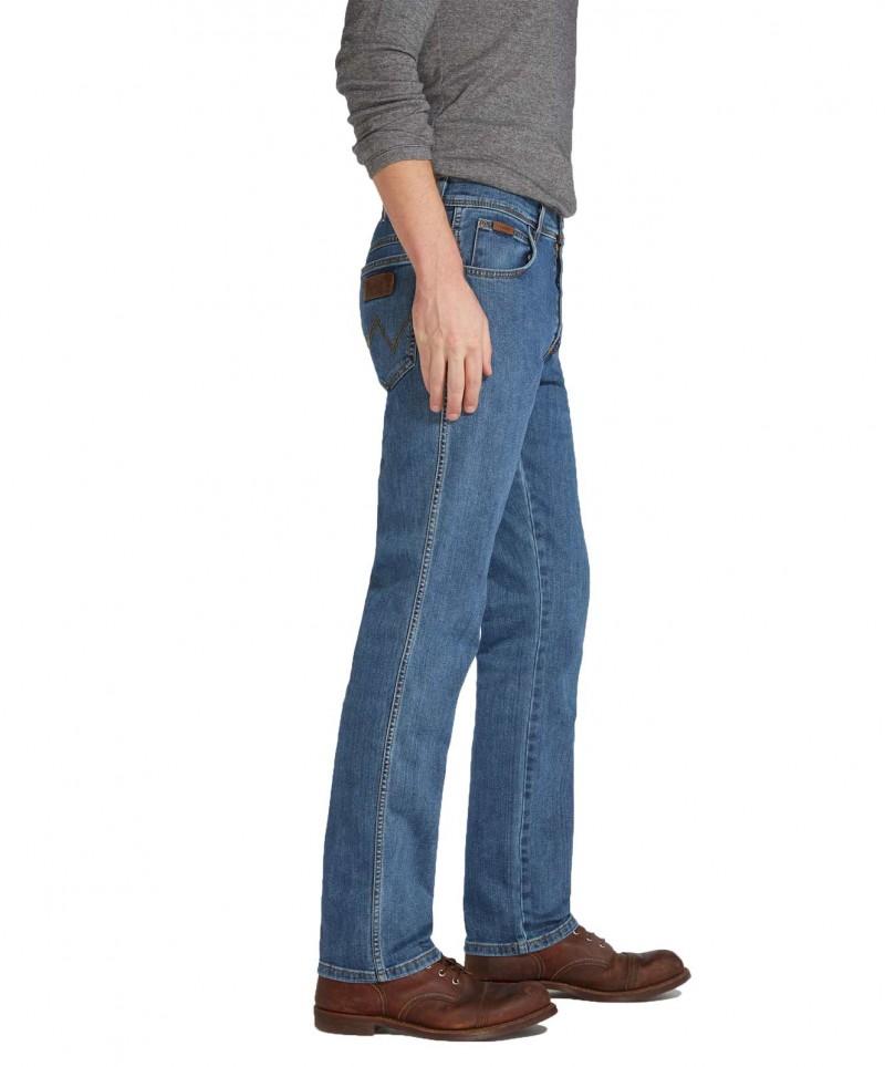 Wrangler Texas Stretch - Regular Fit - Stonewash