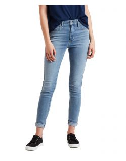 Levis 720 - Hellblaue High Waisted Skinny Jeans