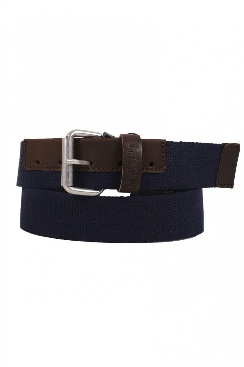 Mustang Jeans - Stoffgürtel Canvas - Mood Indigo