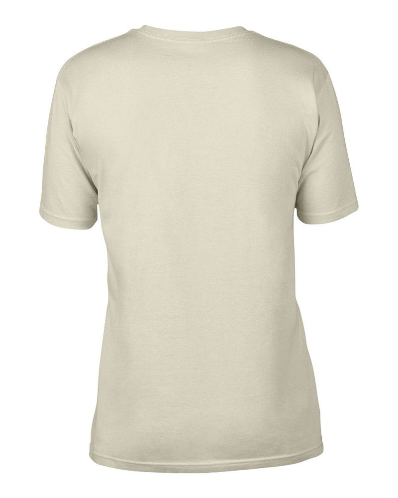 Anvil T-Shirt - AnvilOrganic™ Tee - Natural