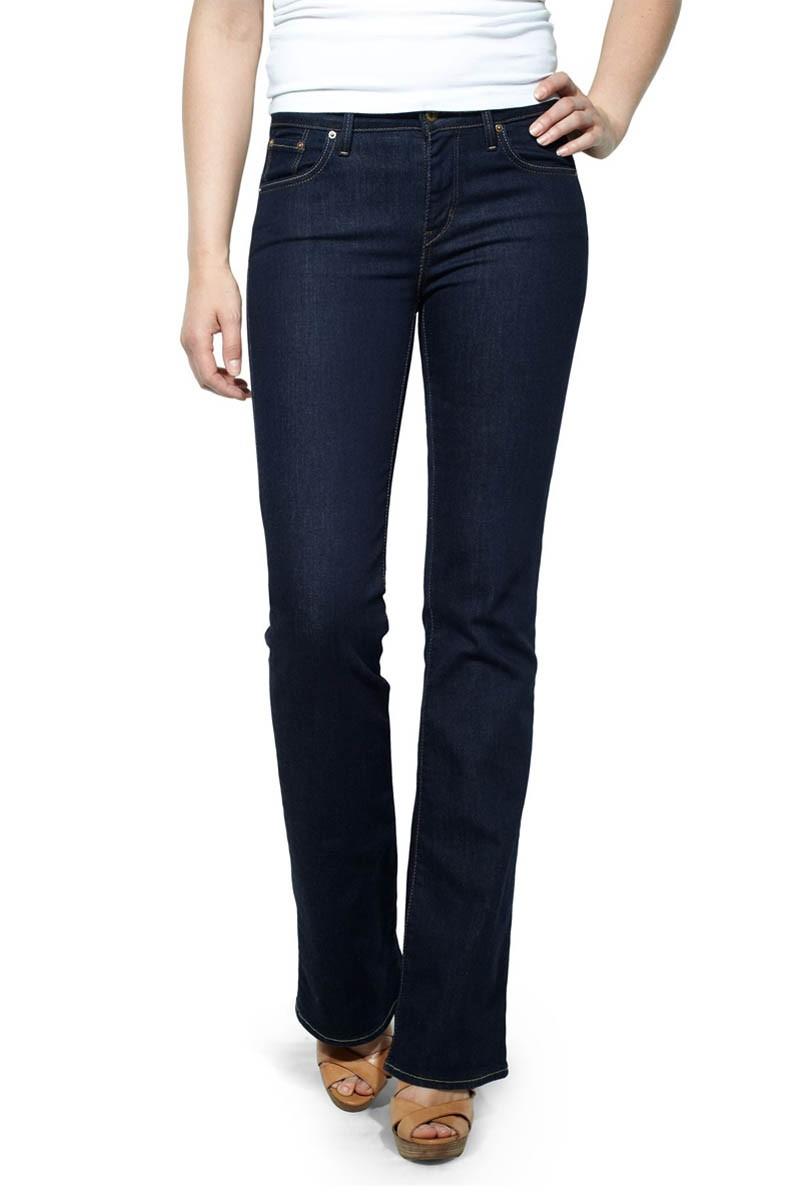 Levis Demi Curve Slim Bootcut Jeans Richest Indigo